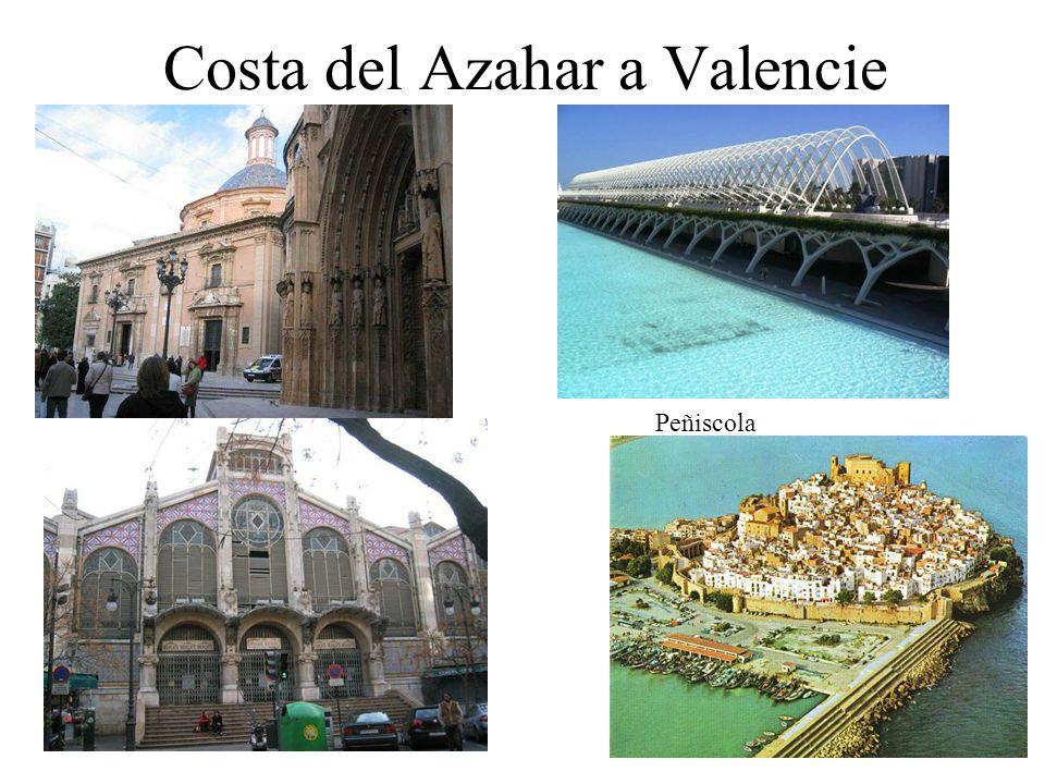 Costa del Azahar a Valencie Peñiscola