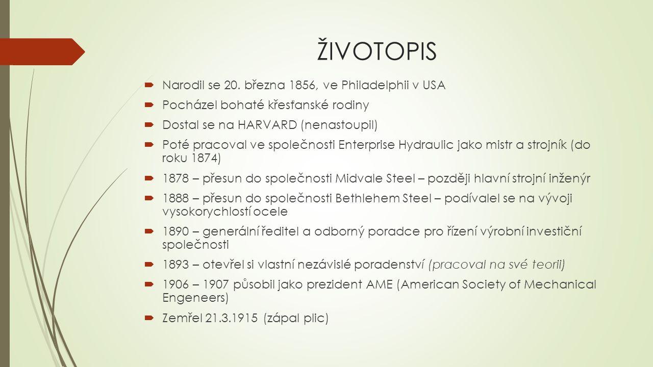 ŽIVOTOPIS  Narodil se 20. března 1856, ve Philadelphii v USA  Pocházel bohaté křesťanské rodiny  Dostal se na HARVARD (nenastoupil)  Poté pracoval