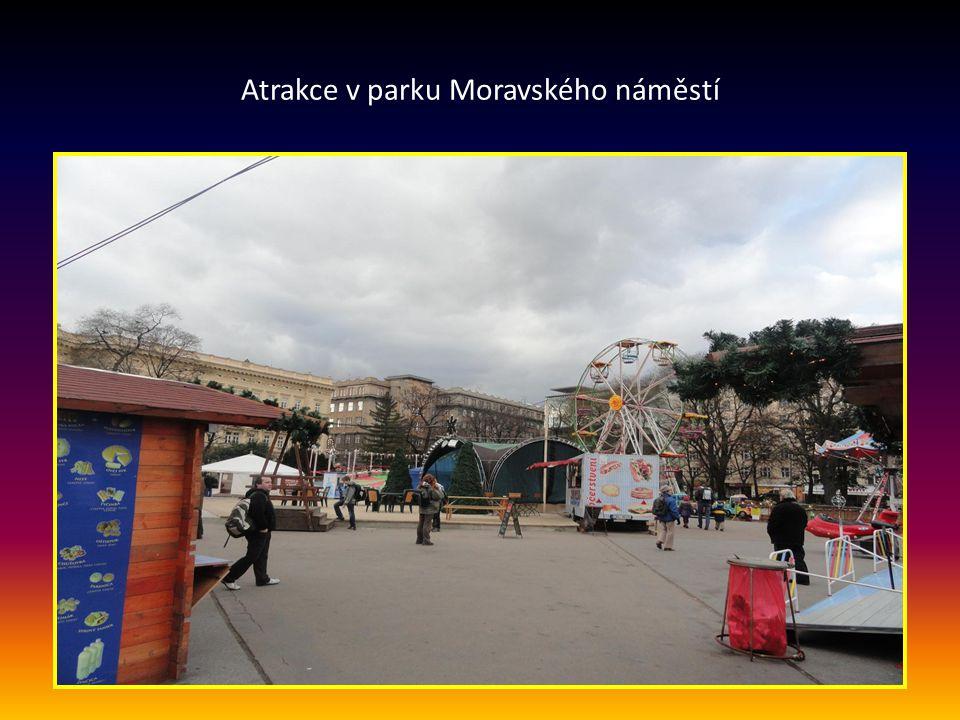 Vstup na vánoční trhy na MORAVSKÉM NÁMĚSTÍ