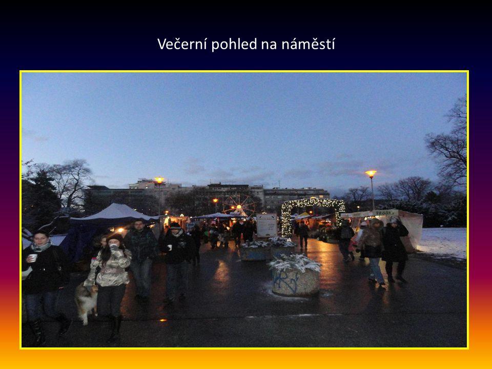 Atrakce v parku Moravského náměstí