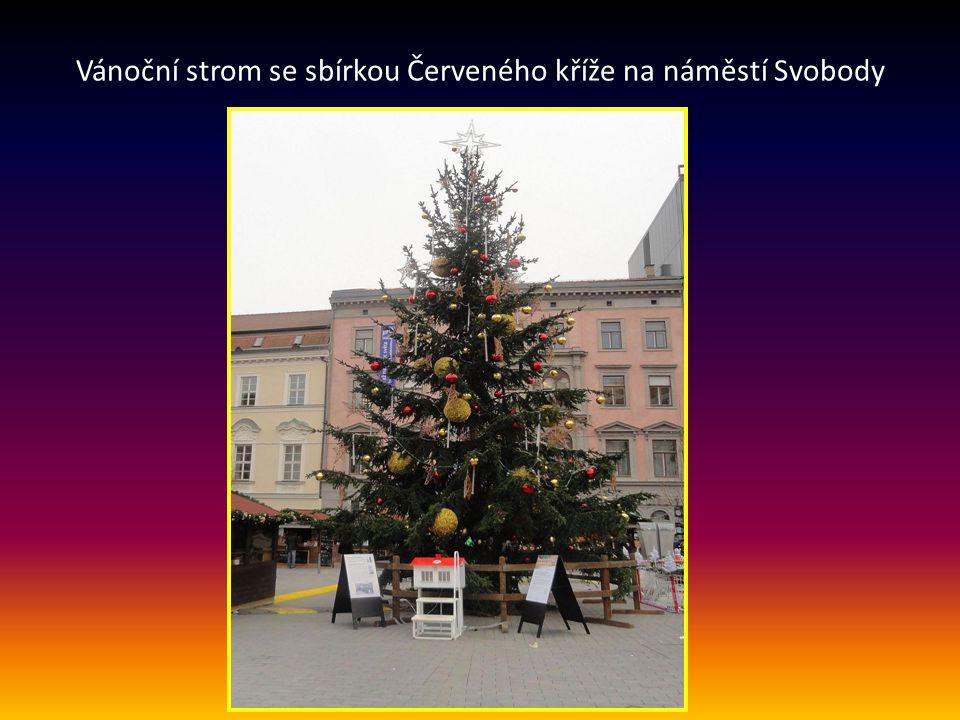…… VÁNOCE- VÁNOČNÍ TRHY VE MĚSTĚ PROBÍHAJÍ NA NĚKOLIKA MÍSTECH OD 25. 11. do 23.12 2012 NA NÁMĚSTÍ SVOBODY NA ZELNÉM TRHU NA MORAVSKÉM NÁMĚSTÍ Vánoce