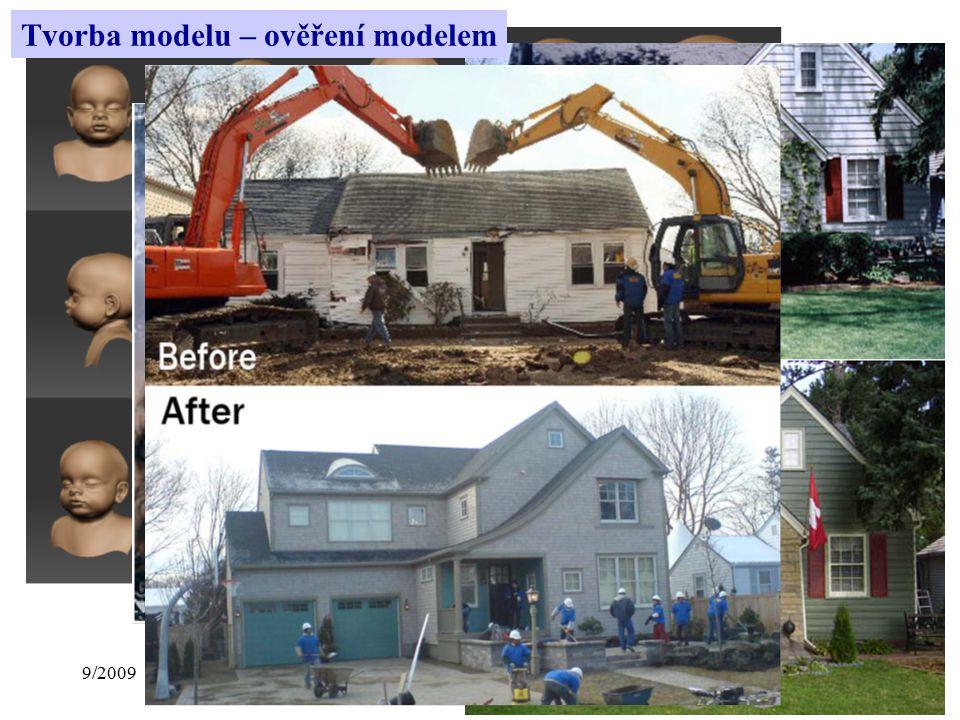9/2009Přednáška č. 18 Tvorba modelu – ověření modelem