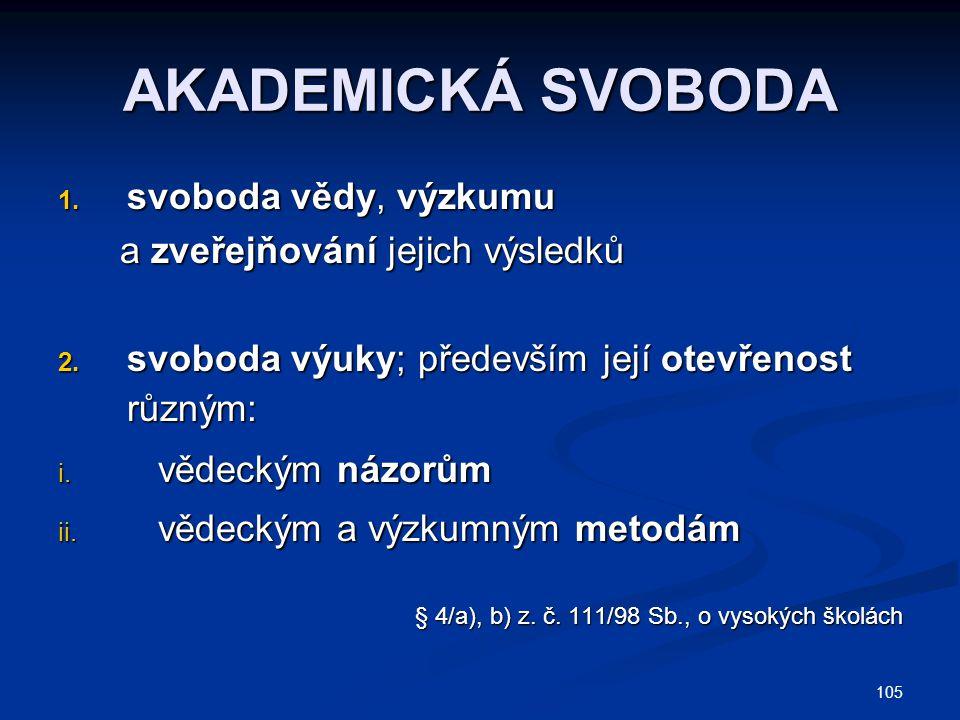 105 AKADEMICKÁ SVOBODA 1.