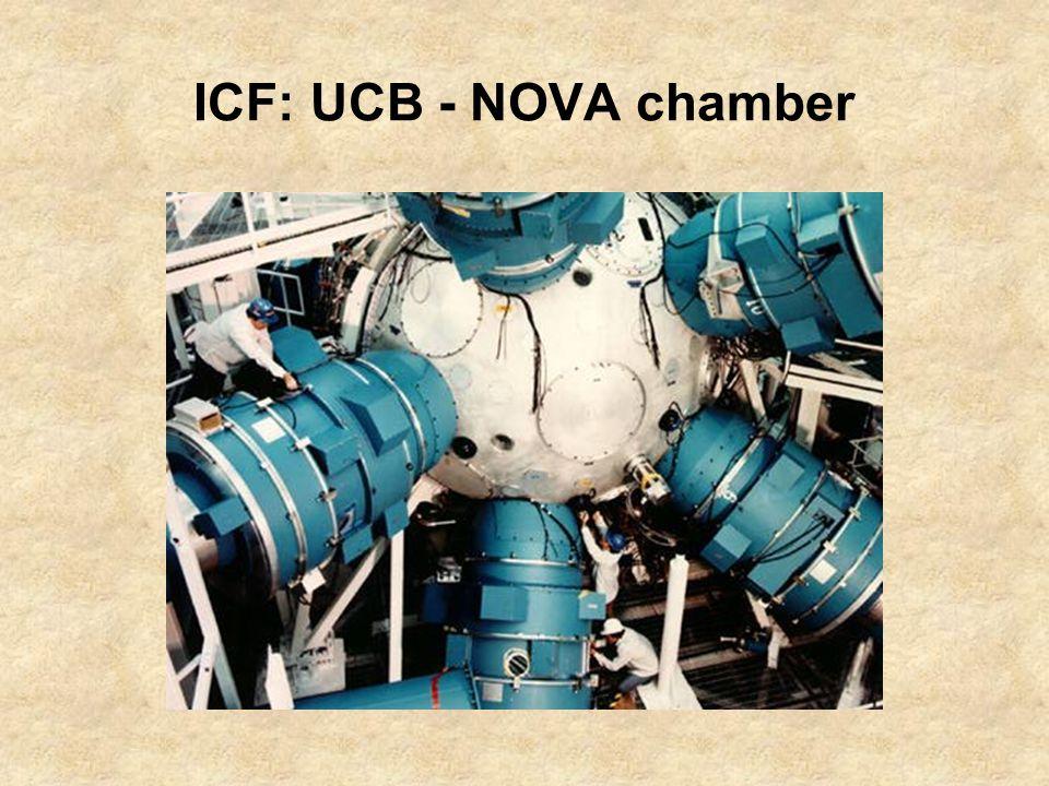 ICF: UCB - NOVA chamber