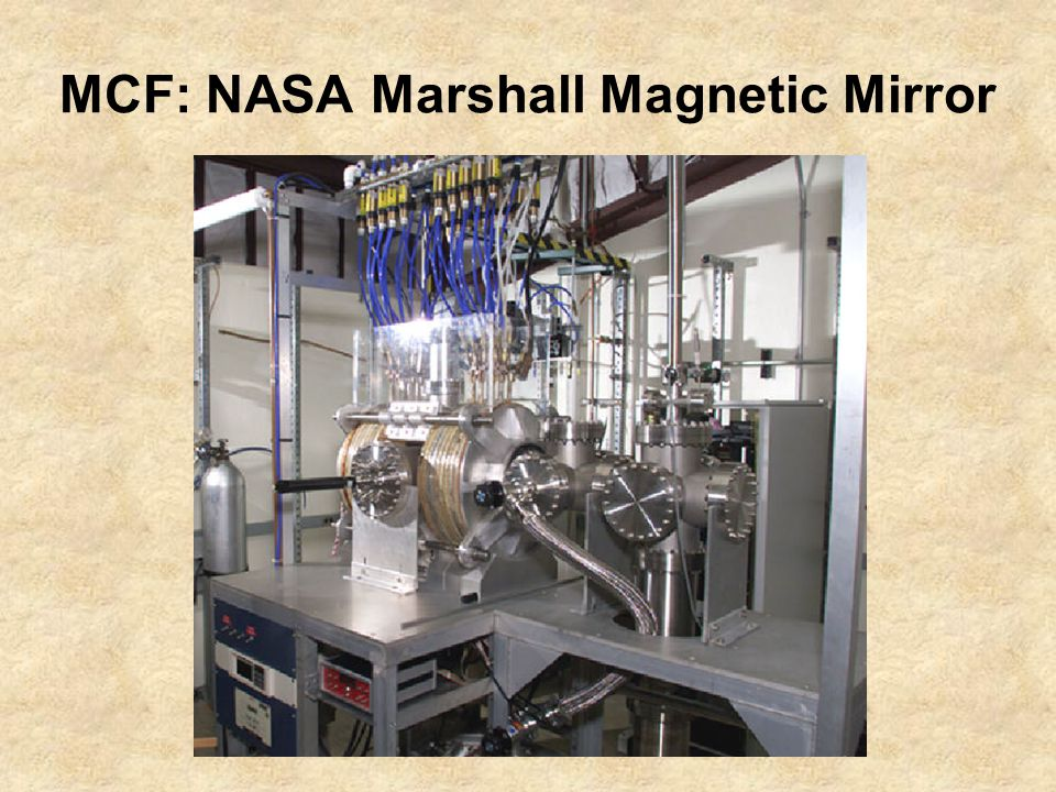 MCF: NASA Marshall Magnetic Mirror