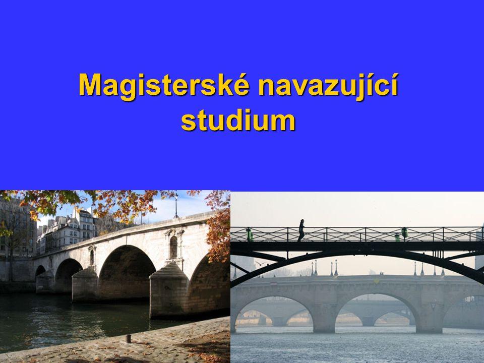 Magisterské navazující studium