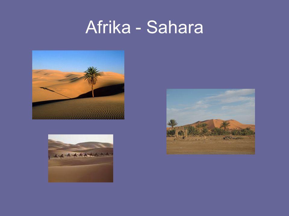 Afrika - Sahara