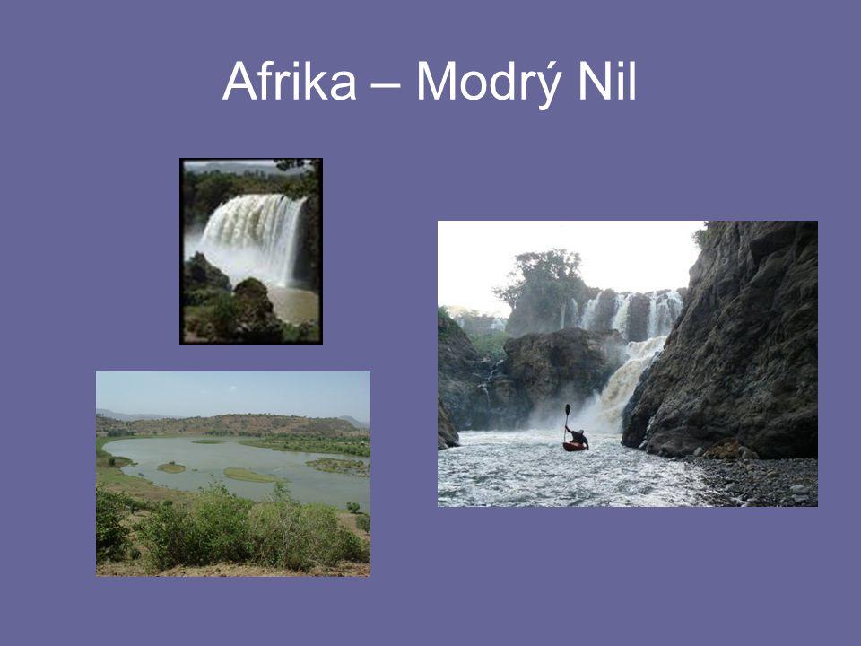 Afrika – Modrý Nil