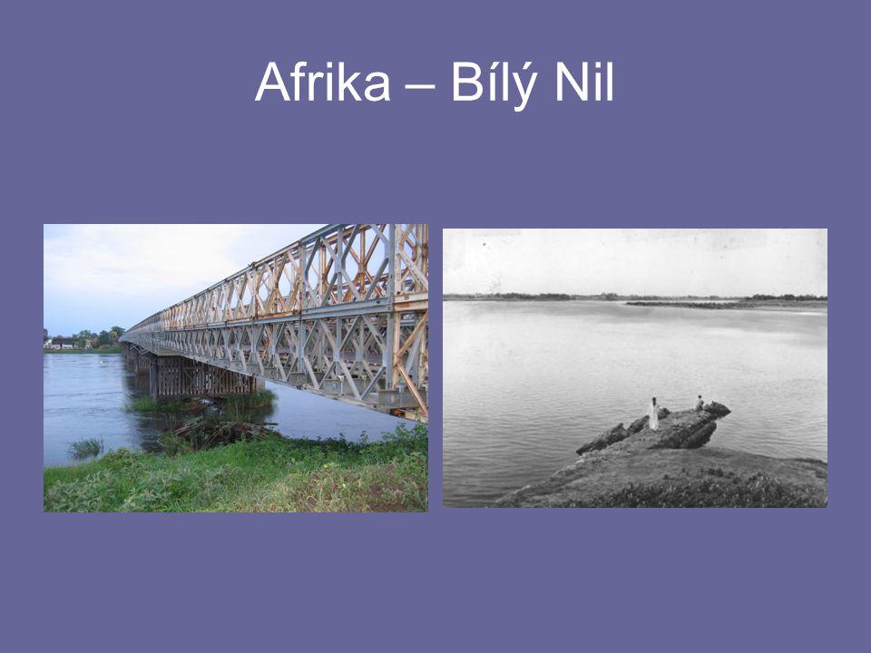 Afrika – Bílý Nil