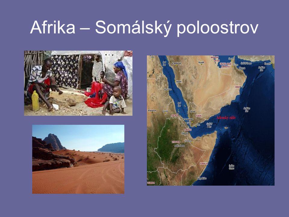 Afrika – Somálský poloostrov