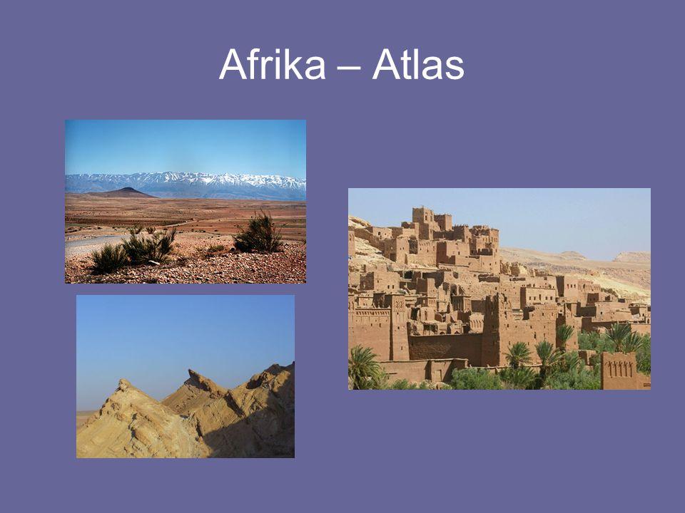 Afrika – Atlas