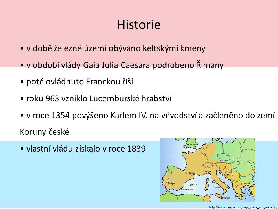 Historie v době železné území obýváno keltskými kmeny v období vlády Gaia Julia Caesara podrobeno Římany poté ovládnuto Franckou říší roku 963 vzniklo