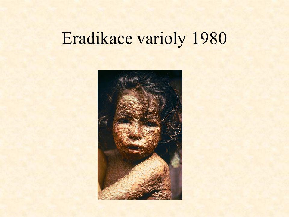 Eradikace varioly 1980