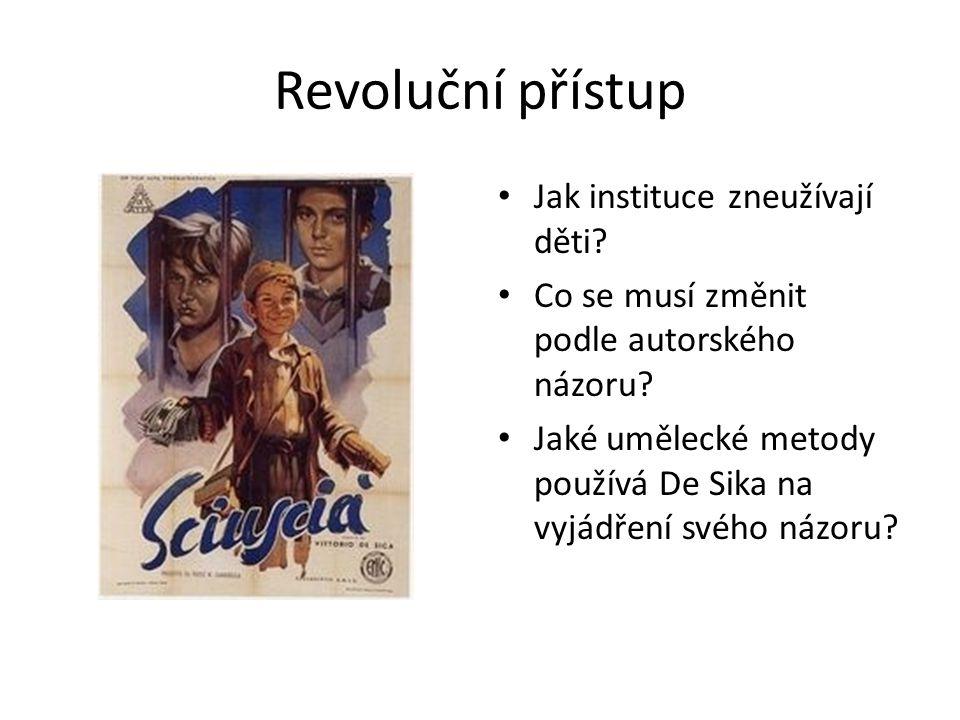 Revoluční přístup Jak instituce zneužívají děti. Co se musí změnit podle autorského názoru.