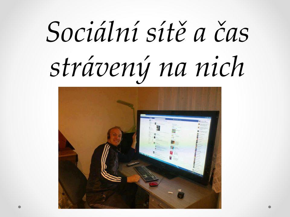 Sociální sítě a čas strávený na nich