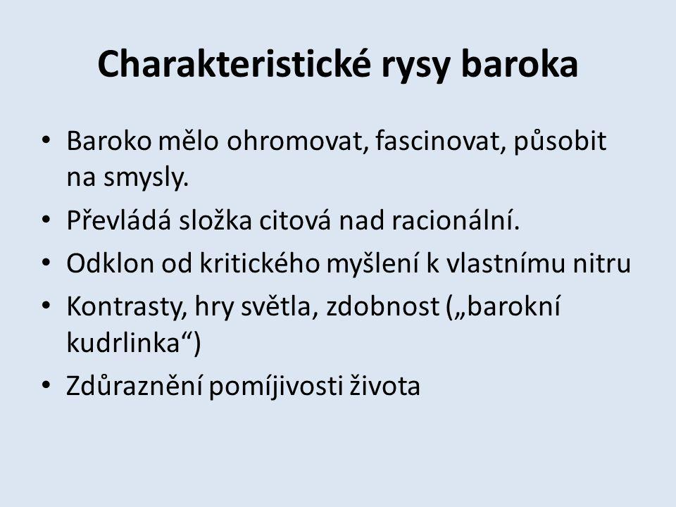 Rokoko (1730 – 1780) Závěrečné období baroka se někdy nazývá rokoko.
