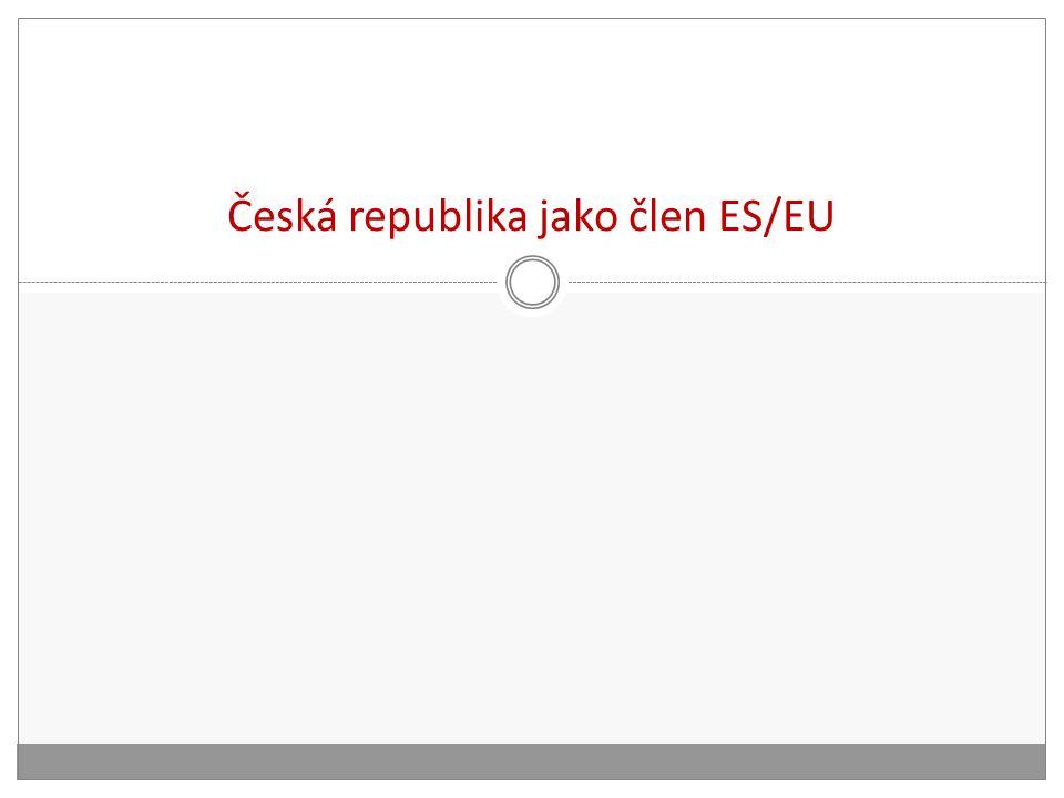Česká republika jako člen ES/EU