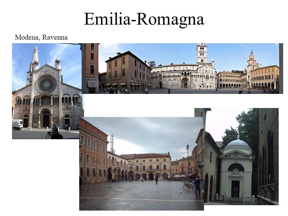 Emilia-Romagna Modena, Ravenna