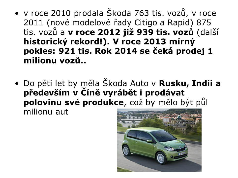 Automobilka TPCA v Kolíně zaznamenala nárůst prodeje o 2,5 % na 332 000 aut, ovšem v roce 2010 poklesla na 295 tis.