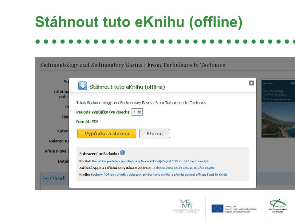 Stáhnout tuto eKnihu (offline)