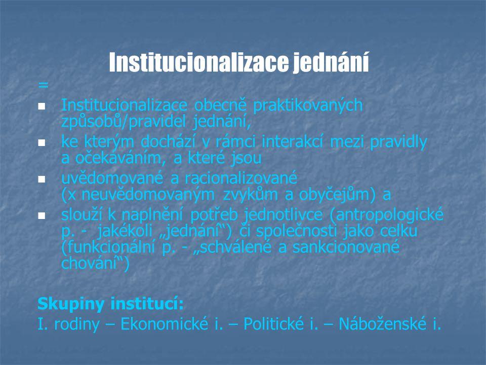 Druhy sociálních vztahů (interakcí) 1.1.