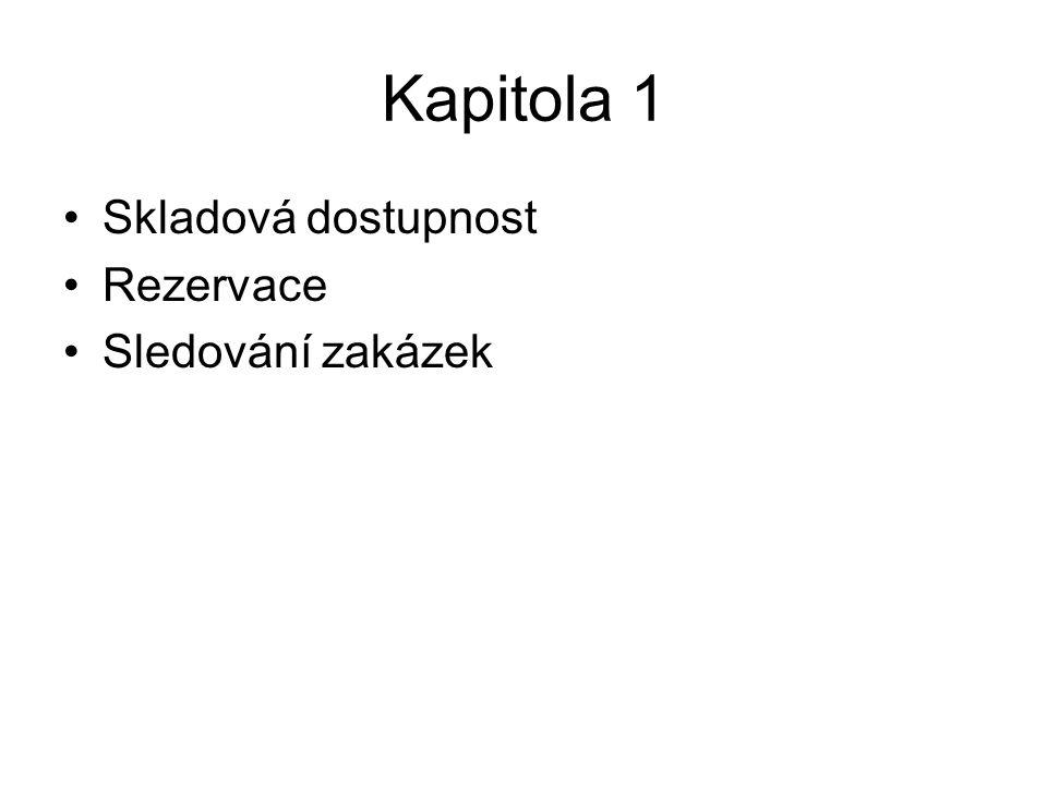 Obecné schéma Centrála Lokace KZ KZ=karta zboží, PB=pobočka, CO=centrum odpovědnosti PB 1 PB 2 PB 3 Lokace SKU 1 SKU 2 Lokace CO 1- Blansko CO 2 - Liberec CO 3 Lokace