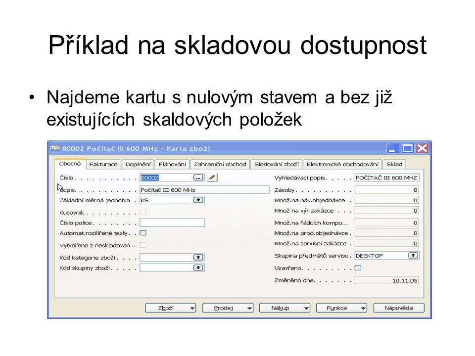 Order tracking-Sledování zakázky Ručně vytvoříme řádek NO na 4 ks a spustíme dávku v Sešitu požadavků znovu : Změníme v řádku PO pro 80004 datum dodávky na 20022007 a po dávce dostaneme : PO NO Order Tracking