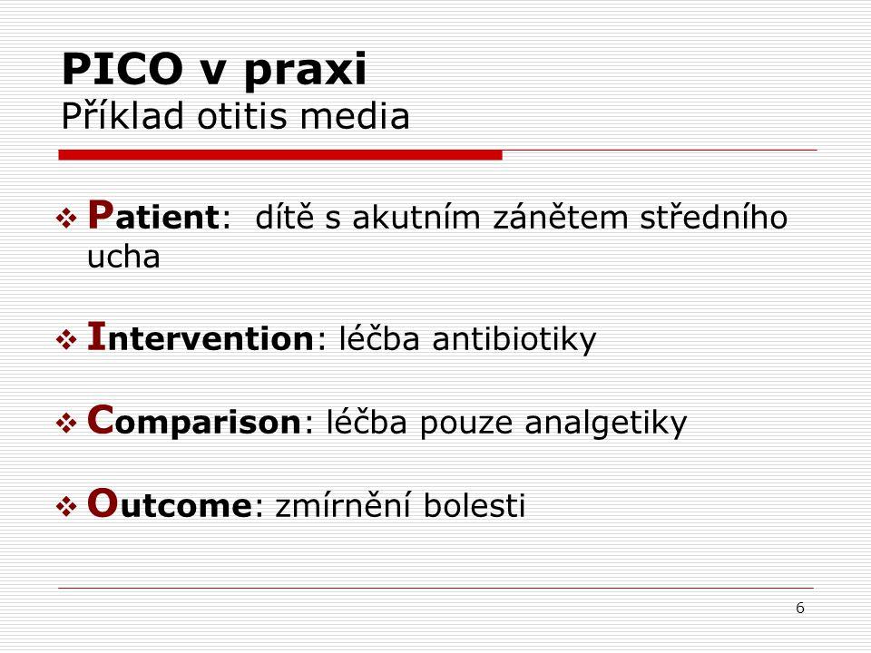 37 Dopad principů EBM na zdravotnictví Epidemiologický důkaz Klinická zkušenost Zdravotní politika Přání a preference pacienta Názory autorit