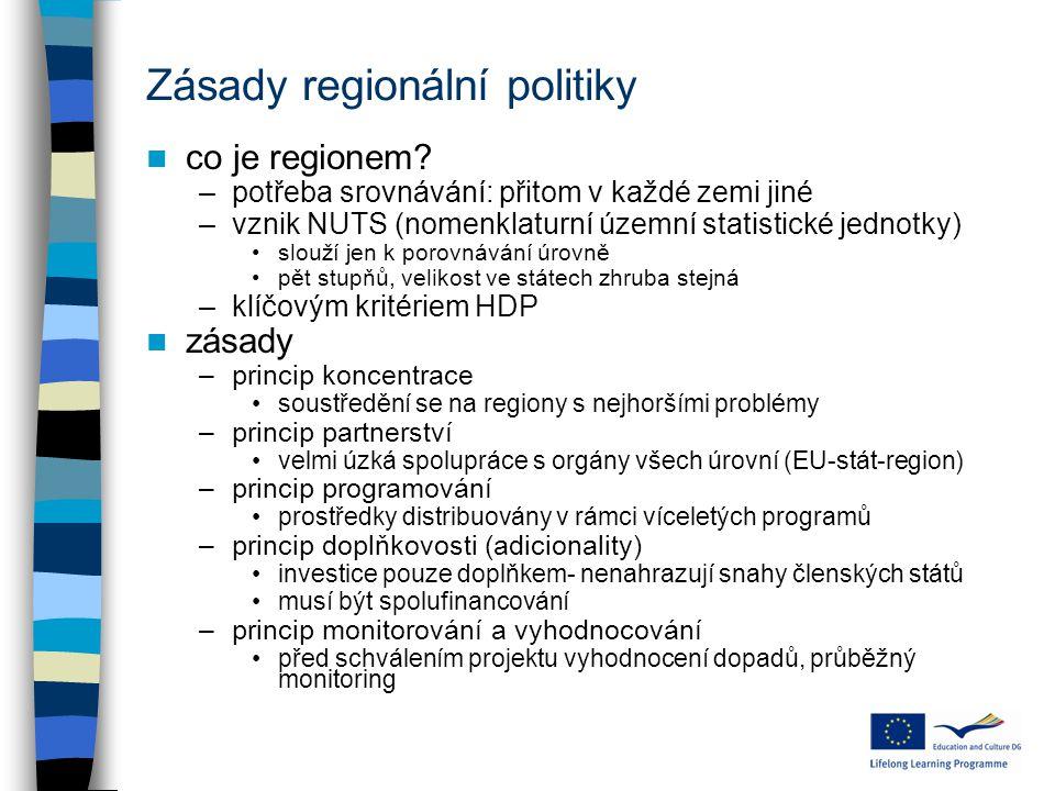 Zásady regionální politiky co je regionem.