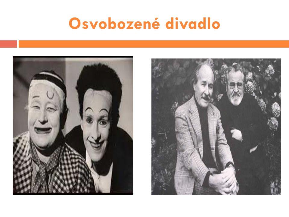 pražská avantgardní scéna  založeno ve 20.letech 20.