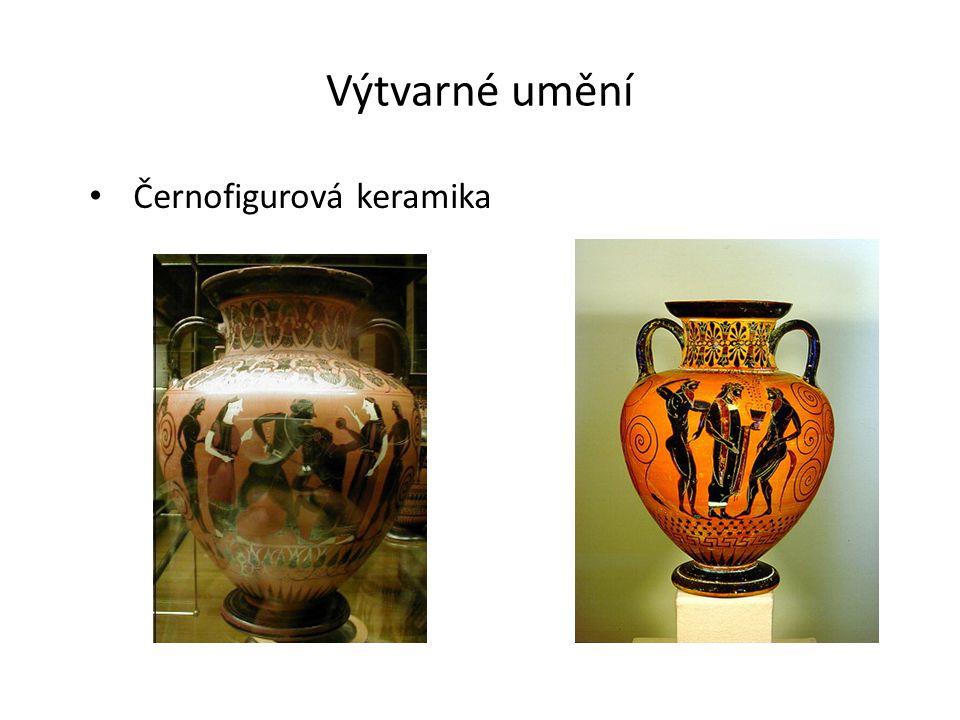 Výtvarné umění Černofigurová keramika