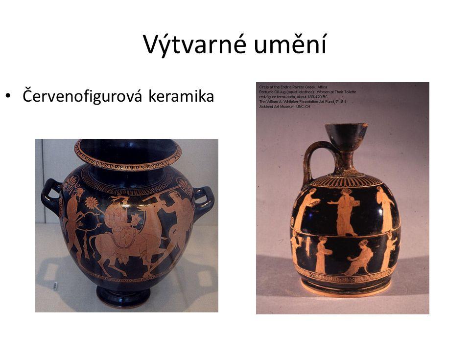 Výtvarné umění Červenofigurová keramika
