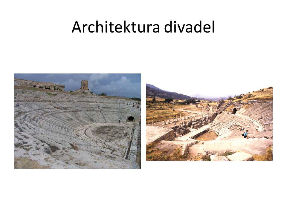 Architektura divadel