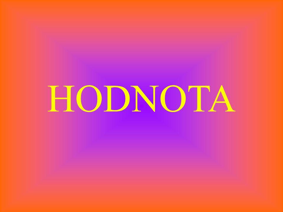 HODNOTA