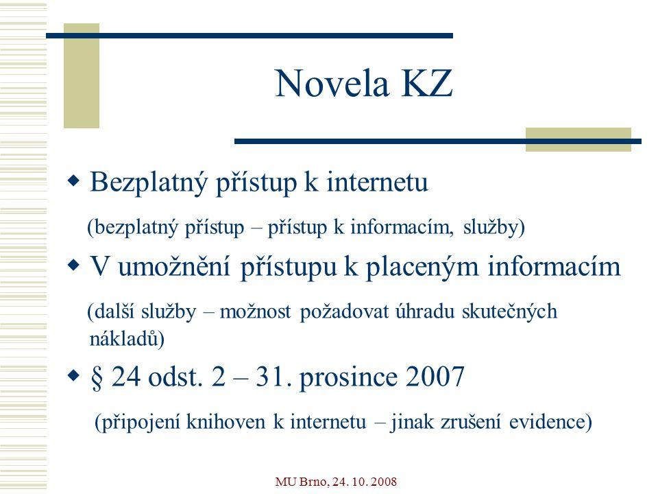MU Brno, 24. 10.