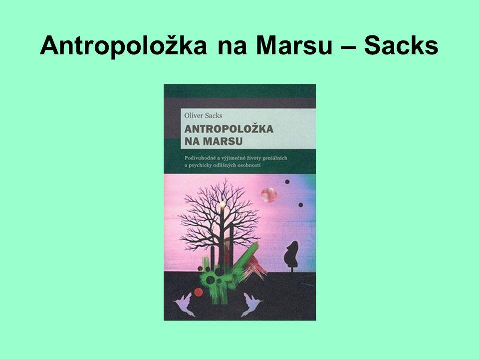 Antropoložka na Marsu – Sacks