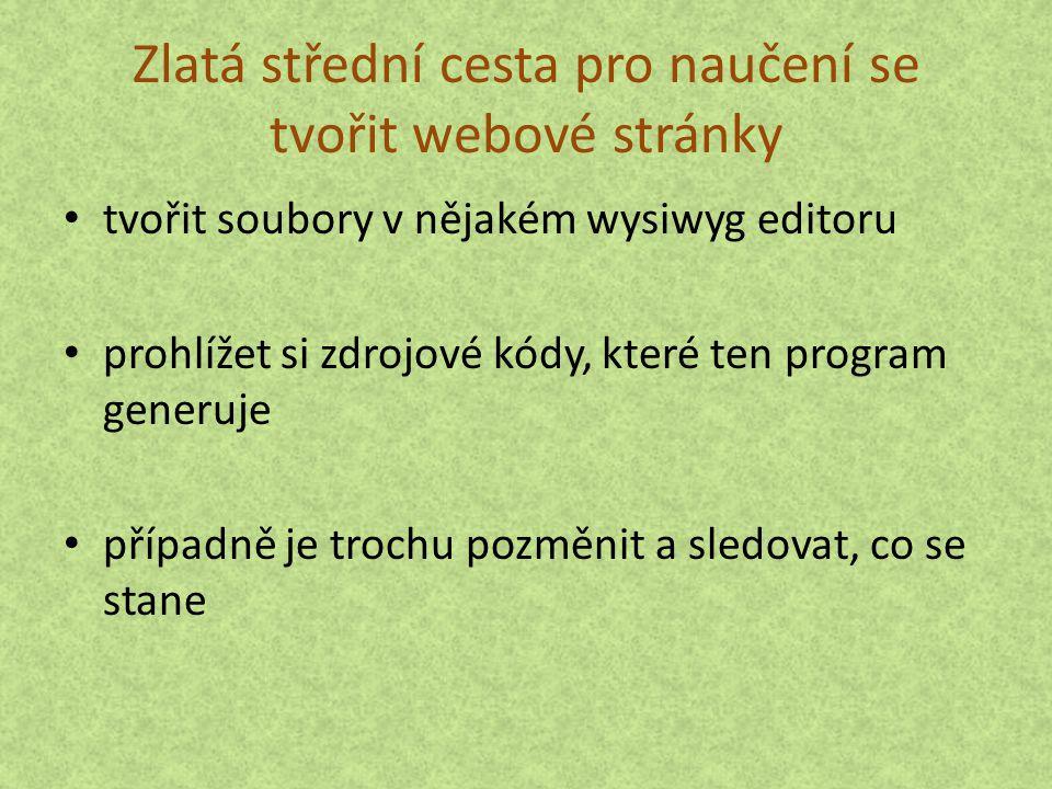 Ukázka stránky v HTML