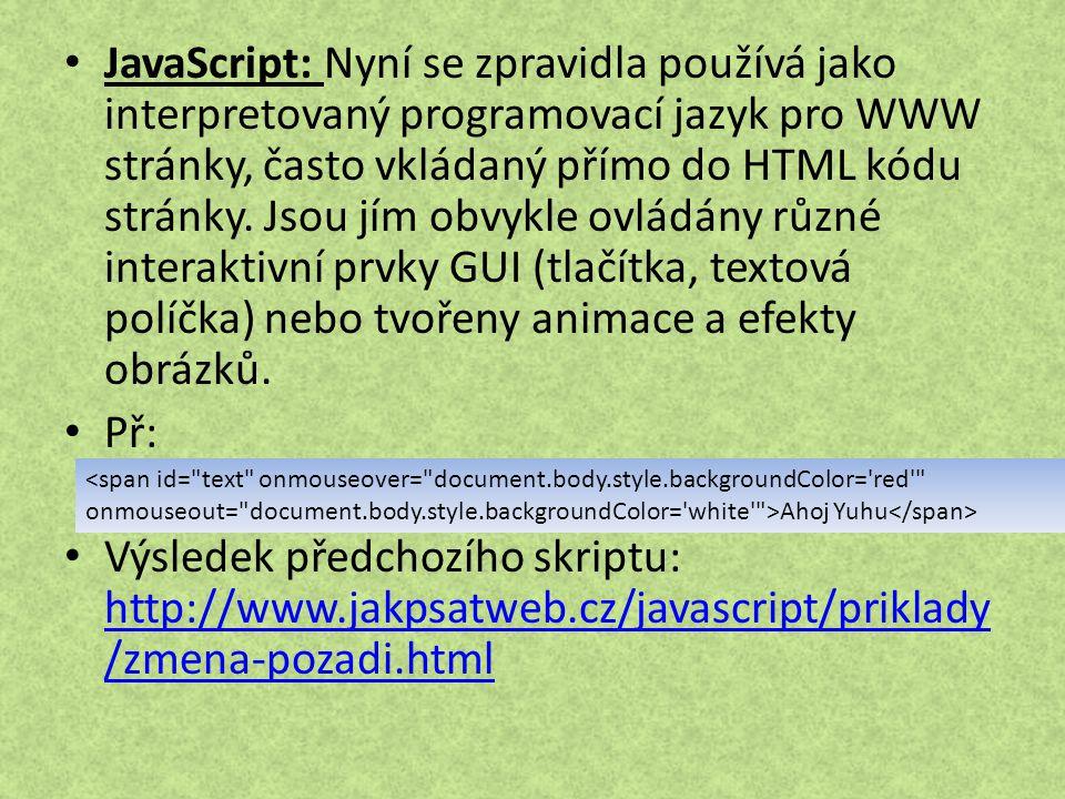 Zdroje a návody na tvorbu webu http://www.jakpsatweb.cz http://www.golden-html.com http://www.youtube.com http://www.wikipedia.cz http://www.tvorba-webu.cz/ http://www.tvorba-webu.cz/ http://www.jaknaweb.com/ http://www.jaknaweb.com/