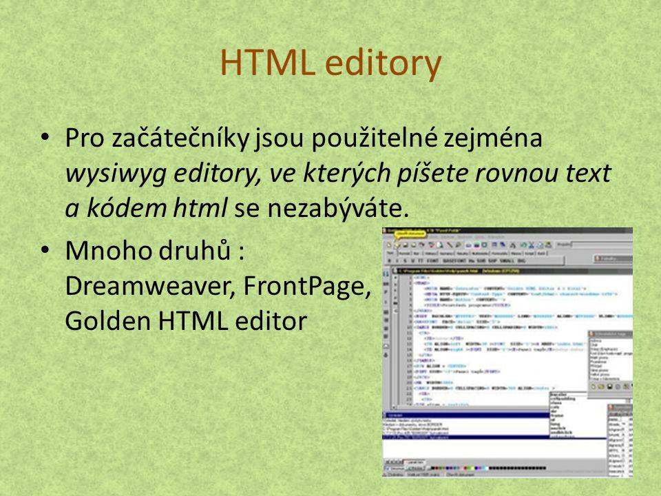 """Psaní zdroje Stačí napsat v NotePadu či ve Wordu a uložit ve formátu *.htm Lepší při složitějších úkonech Pro zobrazení zdroje již existujících stránek klikneme pravým tlačítkem a stisknem """"zobrazit zdrojový kód"""