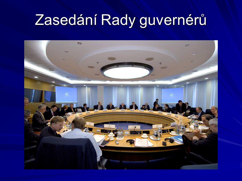 Zasedání Rady guvernérů