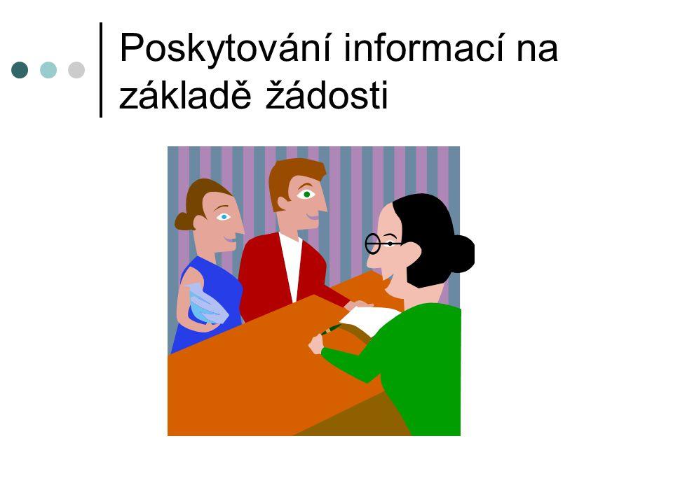 Poskytování informací na základě žádosti