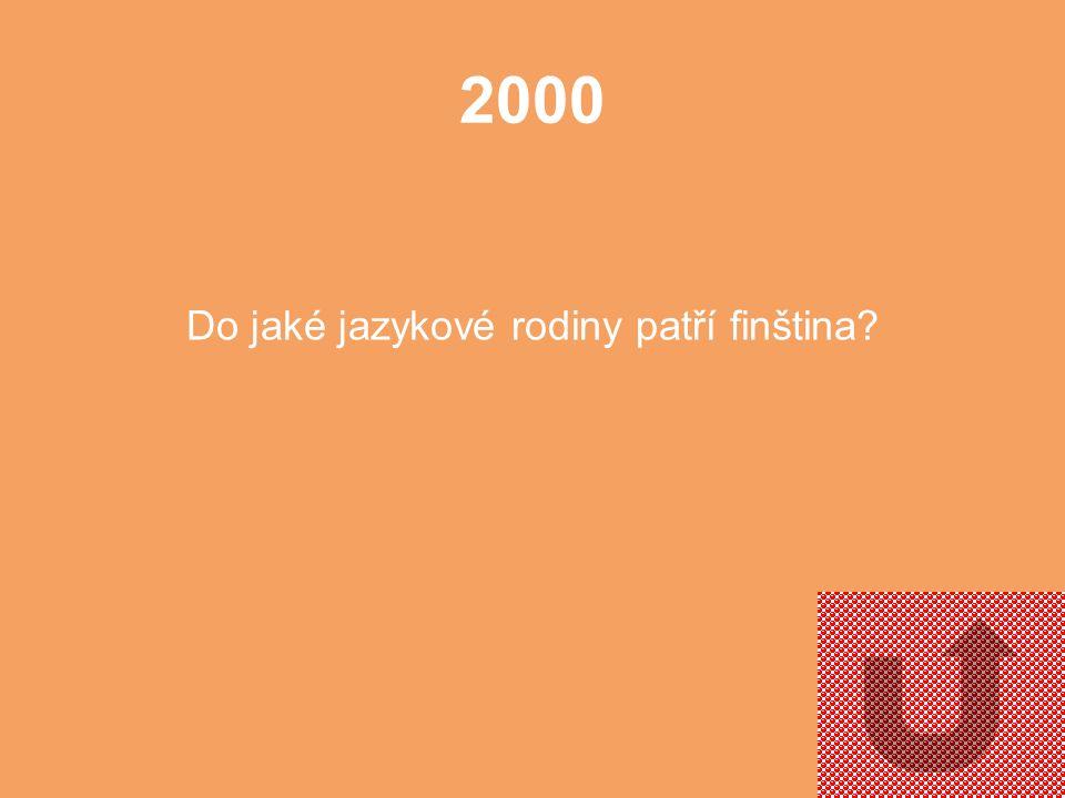 1000 Znáte přídomek, který se s Finskem nejčastěji spojuje