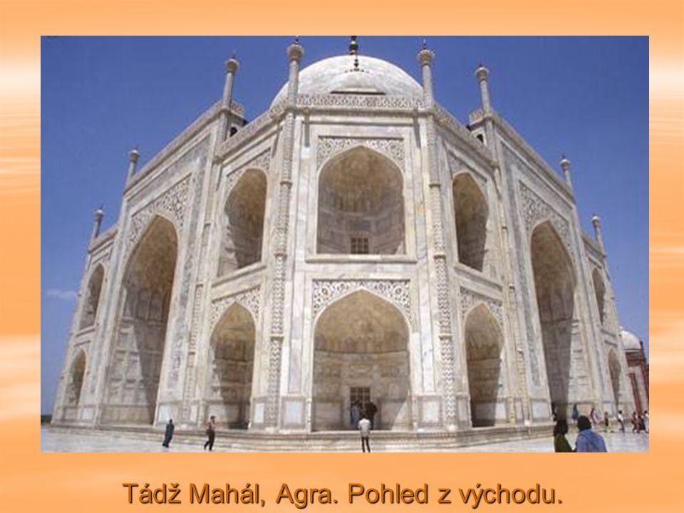 Tádž Mahál, Agraa