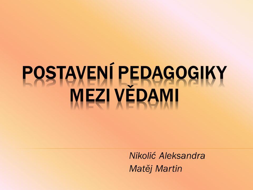 Nikolić Aleksandra Matěj Martin