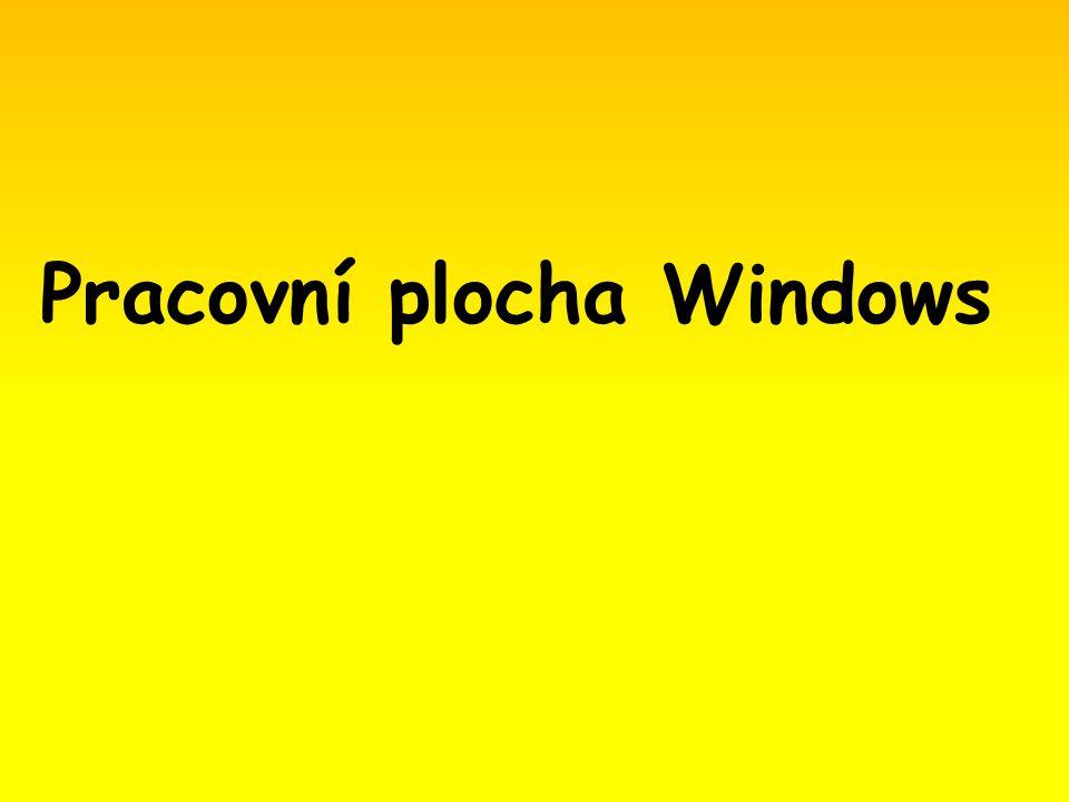 Pracovní plocha Windows