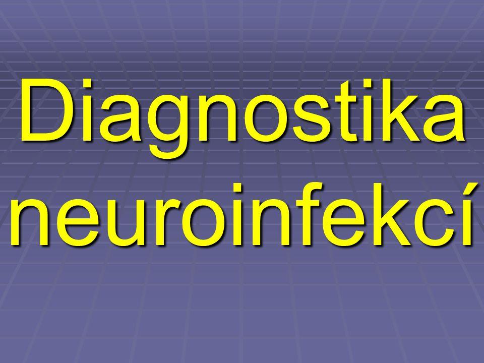 Diagnostika neuroinfekcí
