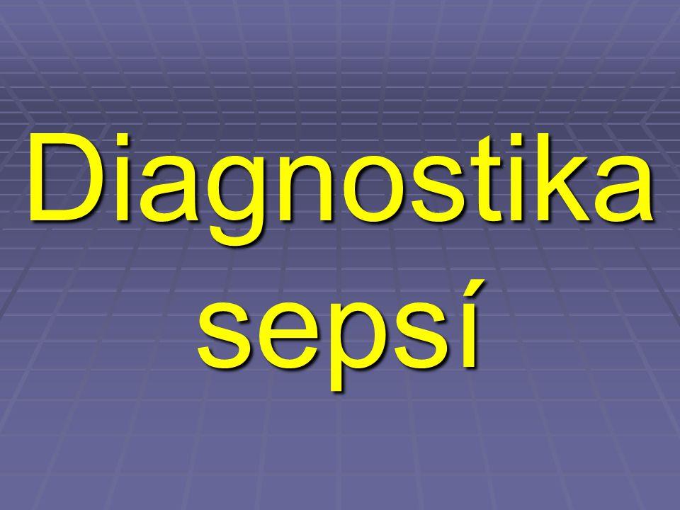 Diagnostika sepsí
