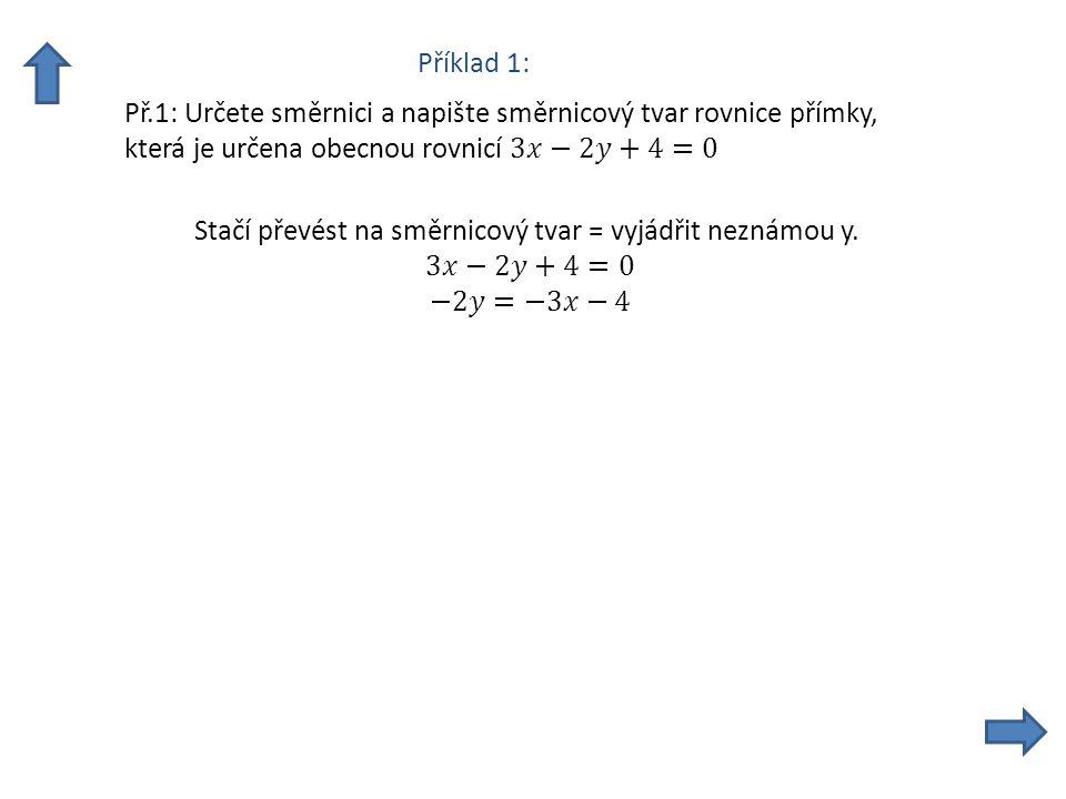 a) Řešení je vidět přímo ze zadání, jelikož se jedná o průsečíky obou os.
