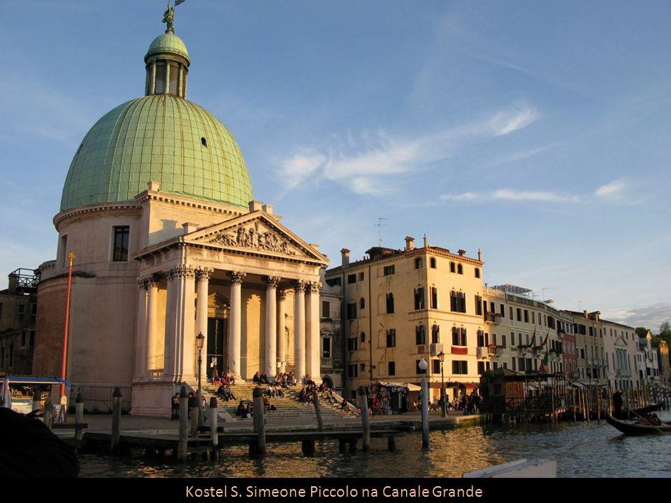 Kostel S. Simeone Piccolo na Canale Grande