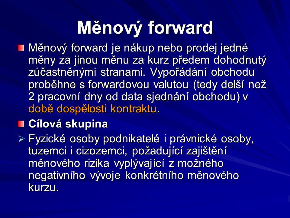 Fixed to fixed swap - příklad Česká firma získá 10 mil.